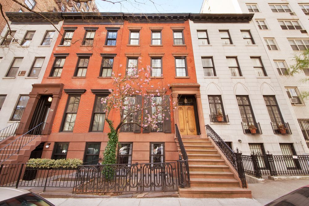 Near Gramercy Park A Beautiful Italianate Townhouse I Love The