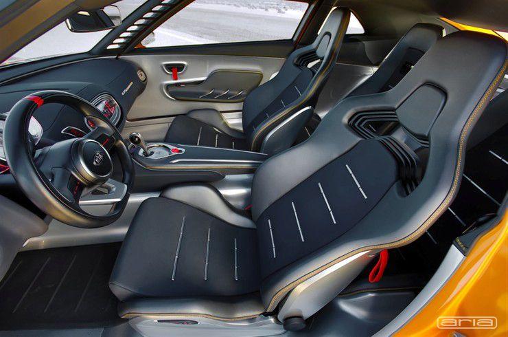kia gt4 stinger hip and trendy interior design by aria
