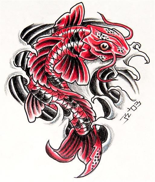 Tatuaes de Pez Koi COMPLETISIMO ~ Fotos de Tatuajes | VITRALES ...
