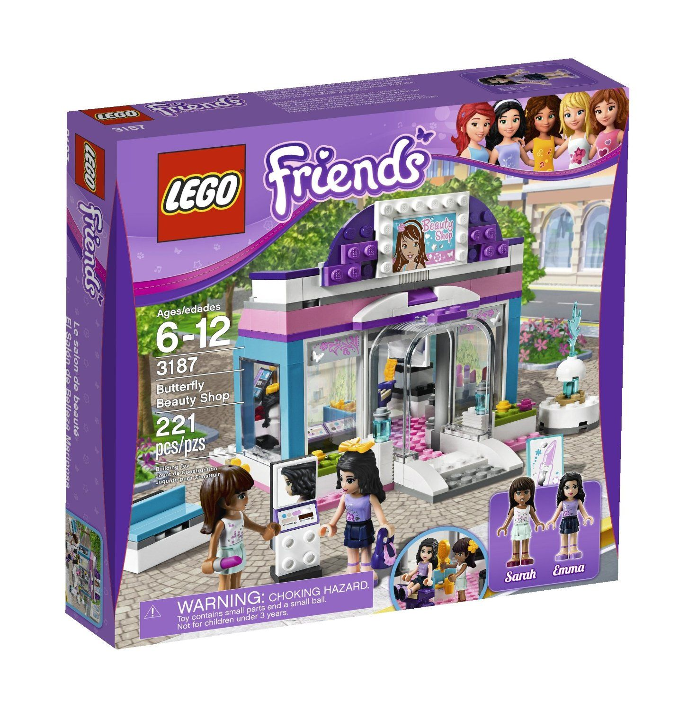 Aeroporto Lego : Amazonsmile lego friends butterfly beauty shop toys games