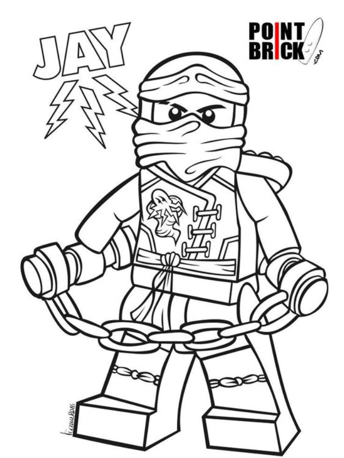 Unique Ninjago Jay Coloring Pages Coloring Page 8211 Ninjago Coloring Pages En 2020 Paginas Para Colorear Para Ninos Dibujos Para Colorear Colorear Para Ninos