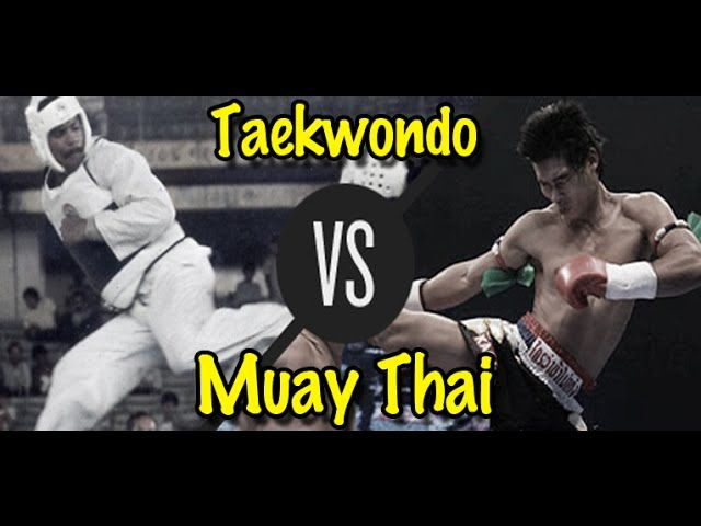 Muay Thai vs Taekwondo: which style is more effective ...