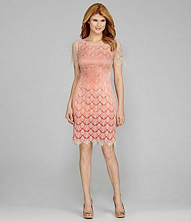 Antonio Melani Yvonne Scalloped Lace Dress #Dillards. | ANTONIO ...