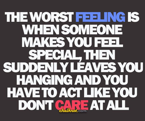 Love You When Someone Hurts Your Feelings The Worst Feeling Is