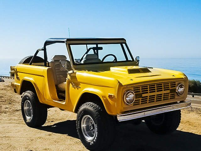 7 Old School Broncos On Ebay Perfect For Spring Break Bronco Car