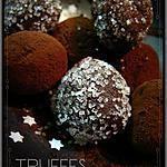 Recette de Truffes au chocolat et au café #truffesauchocolat