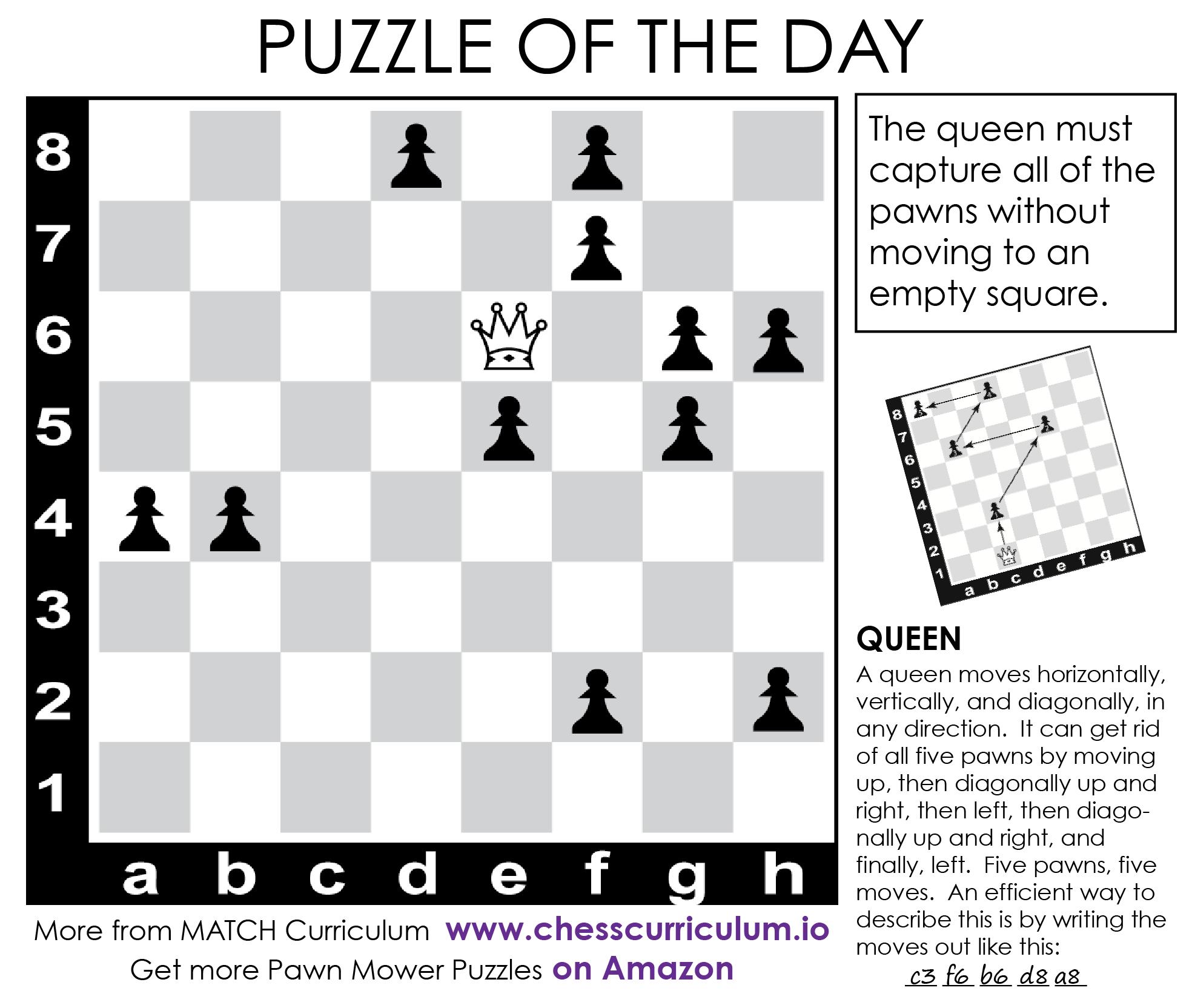 image regarding Printable Chess Puzzles identified as Chess puzzles Chess puzzles Chess puzzles, Chess