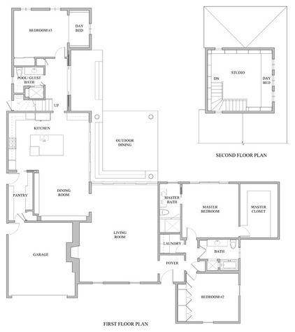 Houzz Tour Steering Toward Subtle Nautical In Los Angeles Floor Plans Floor Plan Drawing House Floor Plans