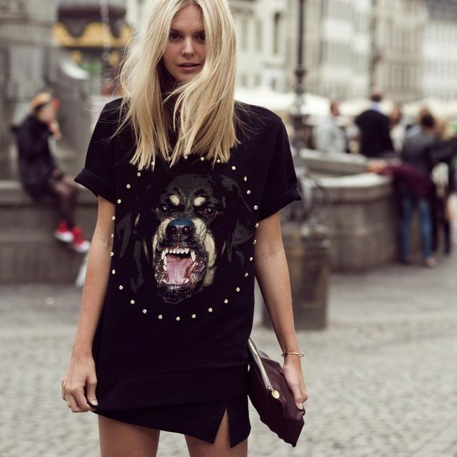 Buy Givenchy Rottweiler Shirt Womens 60 Off