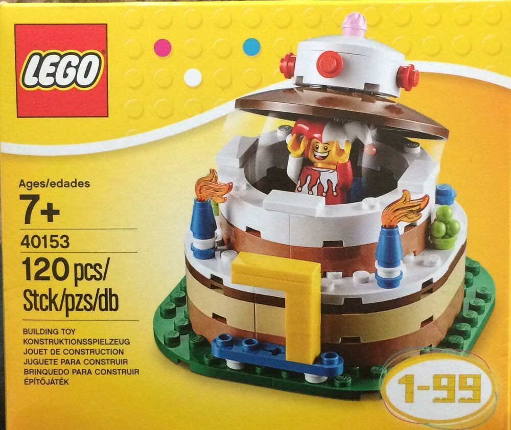 NIB LEGO Birthday Decoration Cake Set 40153 Affilink