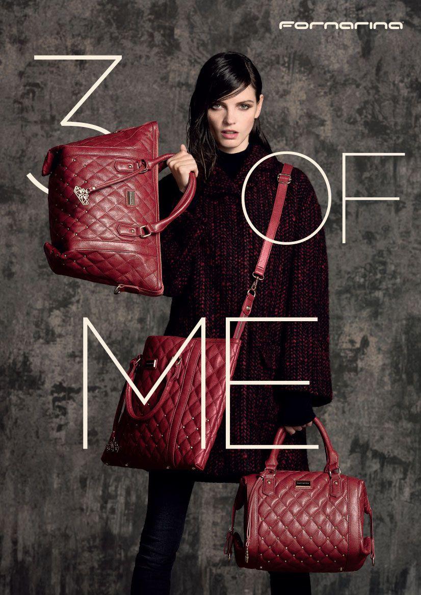 Fornarina FW14-15 Adv Campaign with  JeisaChiminazzo Tres Jolie Bag   Fornarina  3ofme 4f58b10bdd4