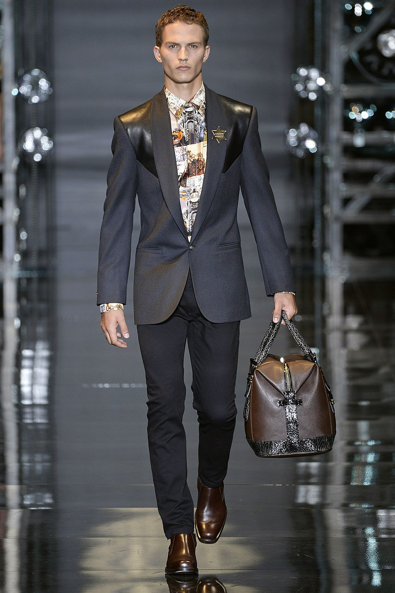 Versace Men 2015 Spring Summer: Boy Oh Boy: The Best Looks From The Fall 2014 Men's Shows