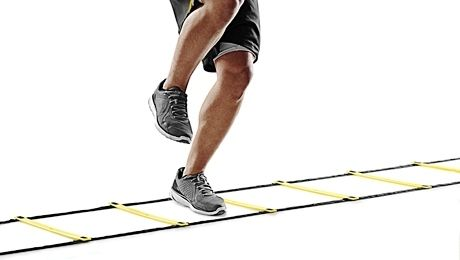 BASEBALL SPECIFIC LADDER DRILL - Looking for a good baseball speed & agility drill to mix things up this summer?  Check out this ladder drill specifically for baseball players.  Add this to your summer workout and your players' feet will be super fast once fall ball gets started.