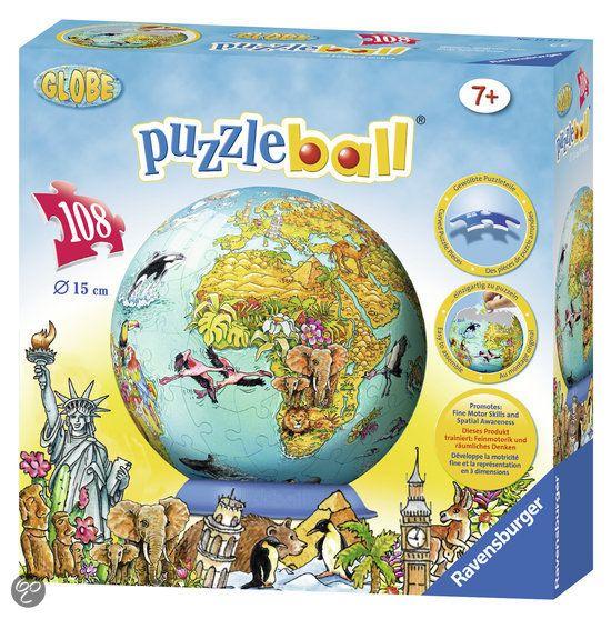 bol.com   Kinderaarde - 3D Puzzel - 108 Stukjes   4005556122127   Boeken