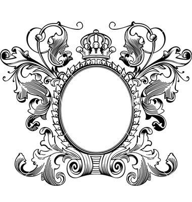 antique picture frames vector. This Vintage \ Antique Picture Frames Vector I
