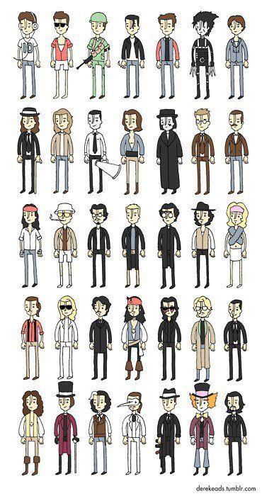 Johnny Depp In Memorable Film Roles