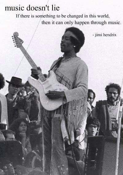 Jimi Hendrix Hippie Soul Radio Music Jimi Hendrix Music Quotes