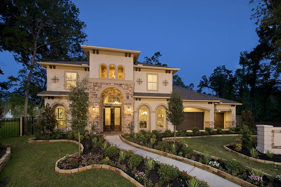 4,931 Sq. Ft. Model Home Perry homes, Model homes, New