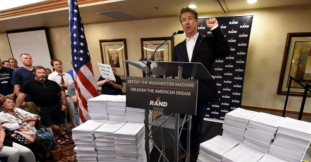 Rand Paul's Fake Flat Tax Flat tax, Paul rand, Excercise