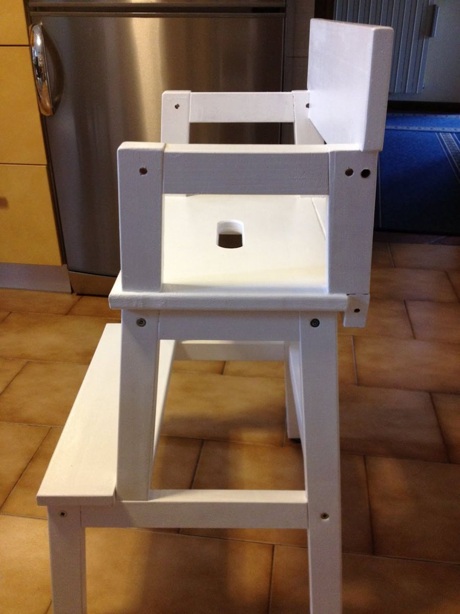 Kitchen Of The Week A Diy Ikea Country Kitchen For Two: DIY Makeovers That Transform The IKEA Bekvam Step Stool
