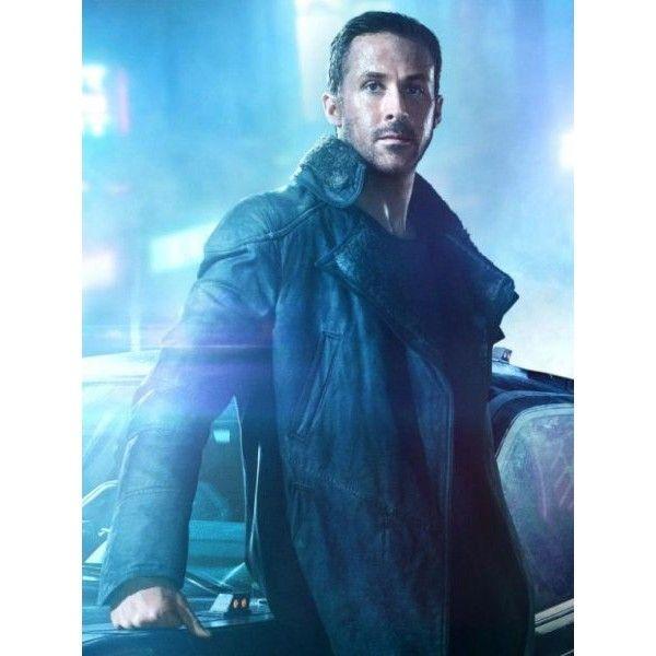 18145f9bd Ryan Gosling Blade Runner 2049 Black Leather Coat - Samishleather ...