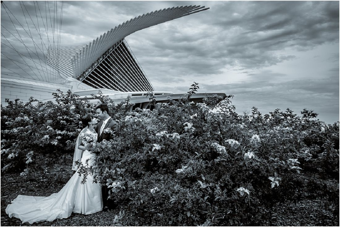 Milwaukee Wedding Photography By Tres Jolie Photo The Art Museum