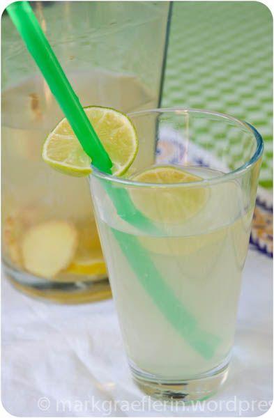 hugo alkoholfrei ingwer limetten drink drinks. Black Bedroom Furniture Sets. Home Design Ideas