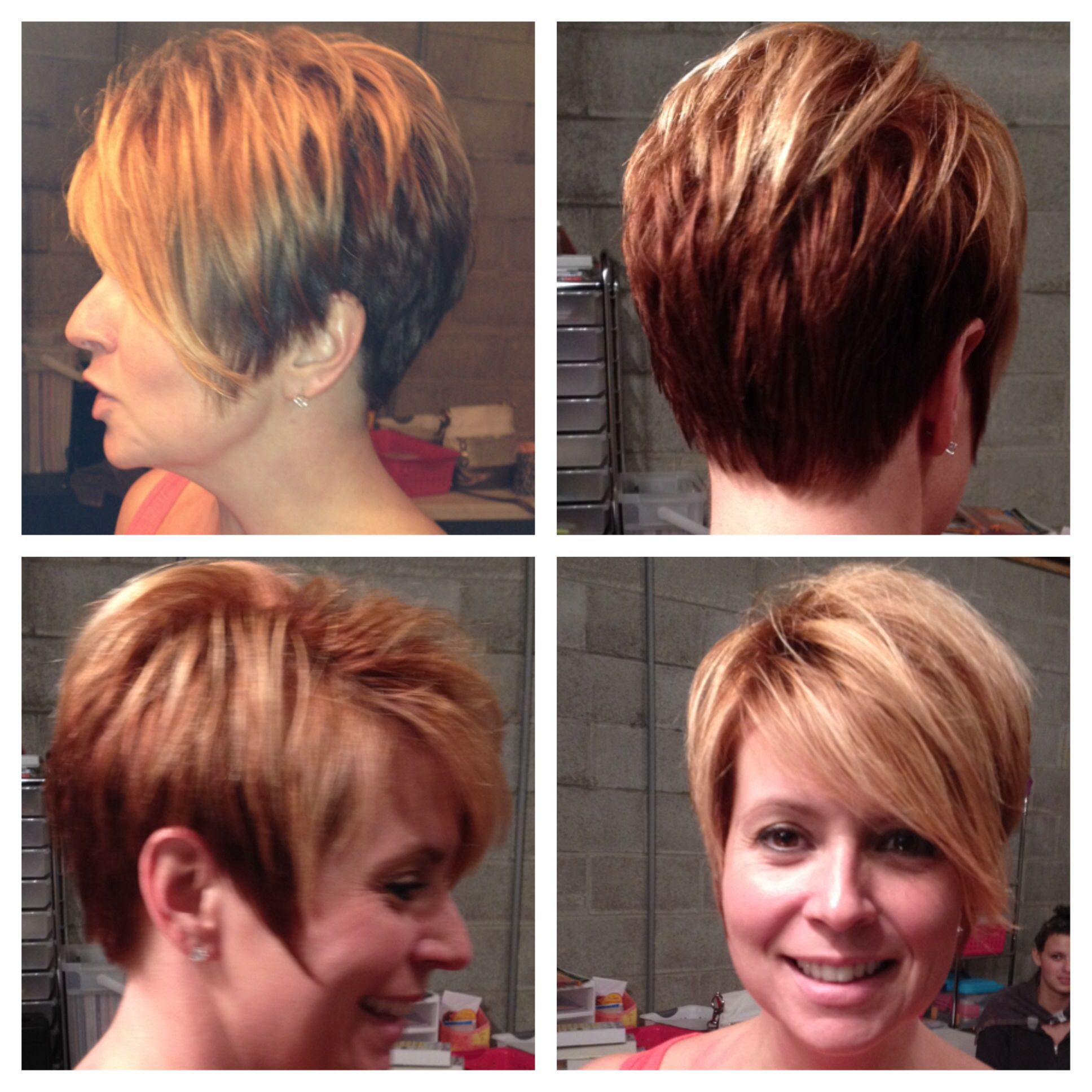 Restyle by tom hair shorthair restyle marzipanhair our work