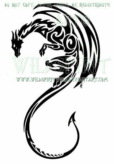 Pin By Anime Lover On Tattoos Tattoos Tribal Dragon Tattoos
