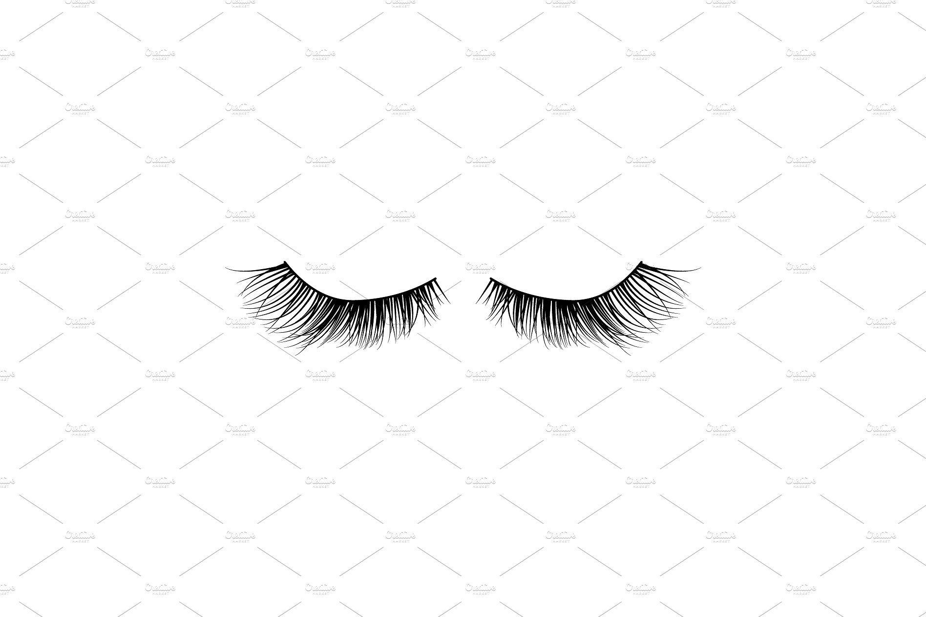 Eye lashes vector icon Eye lash vector, Vector icons, Lashes