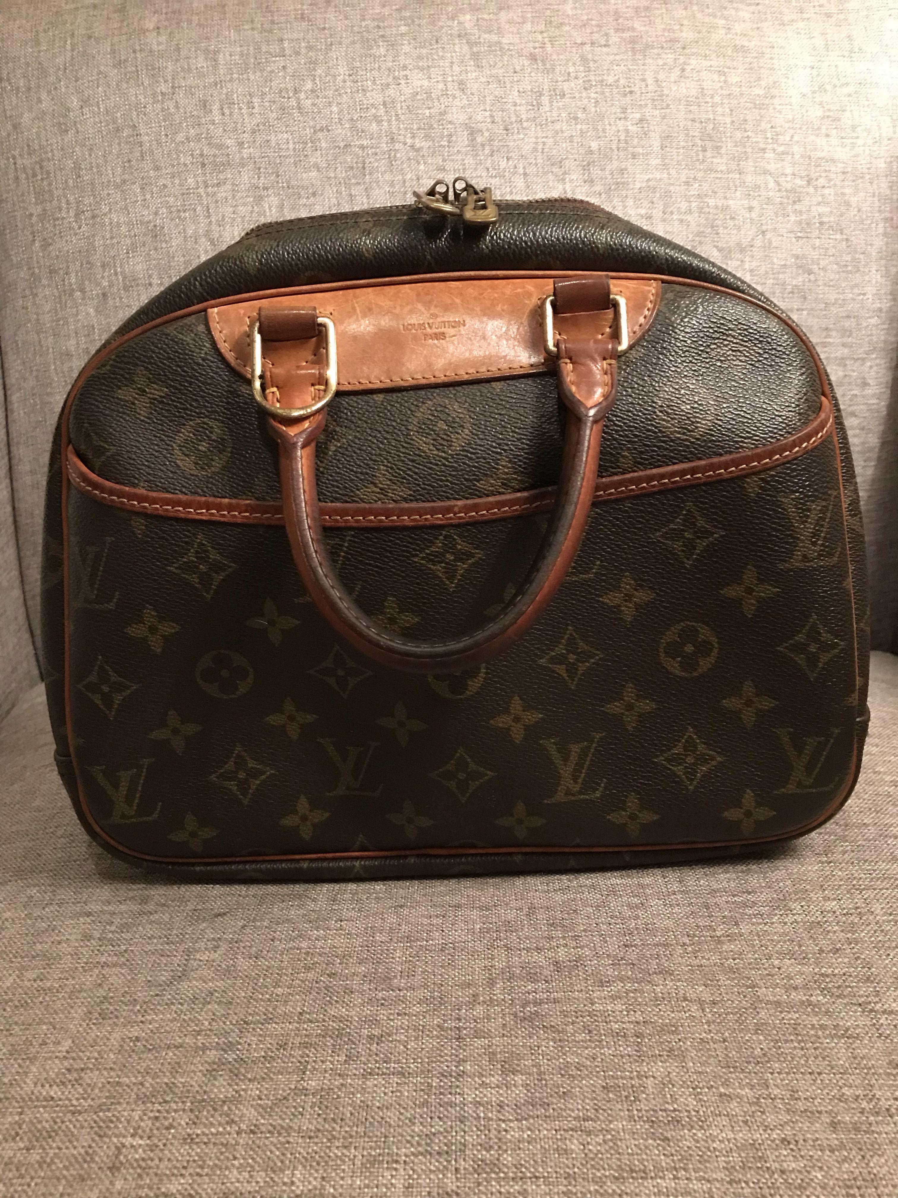 8c14b8917576 Vintage LOUIS VUITTON Trouville handbag