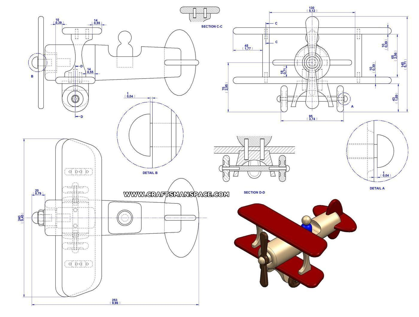 image result for free wooden toy plans | airplanes | wood
