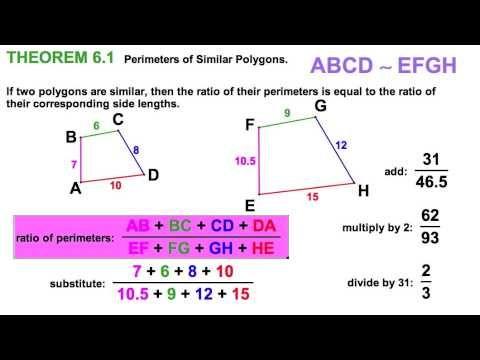 6 3 identifying similar polygons scale factor slackmath videos pinterest factors and math. Black Bedroom Furniture Sets. Home Design Ideas