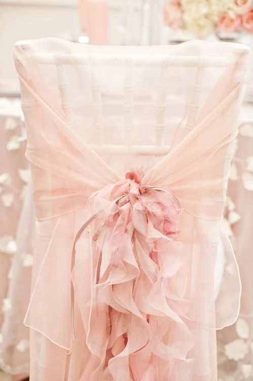 Decoración en menta o rosa pastel para la recepción ✿⊱╮