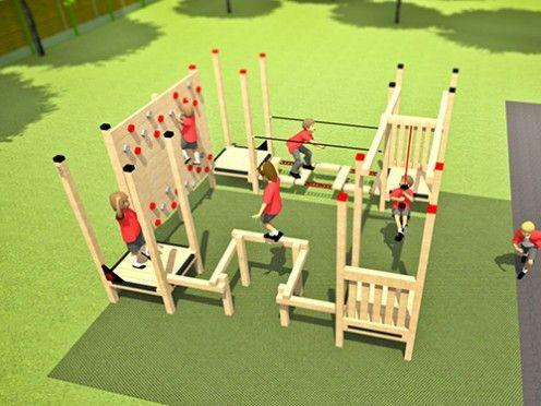 freeflow climbing  esp play £5999  outdoor playground