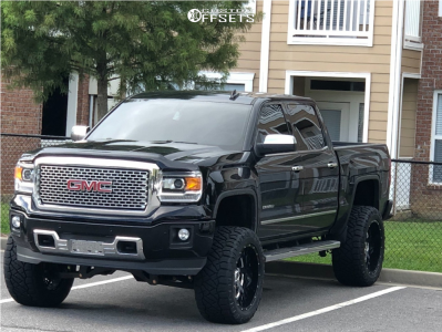 2015 Gmc Sierra 1500 Fuel Renegade Nitto Ridge Grappler Gmc