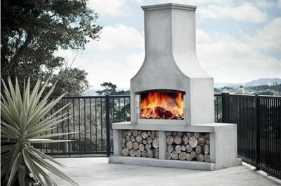 Outdoor Fireplaces Flare Pre Cast Concrete Outdoor Fireplaces