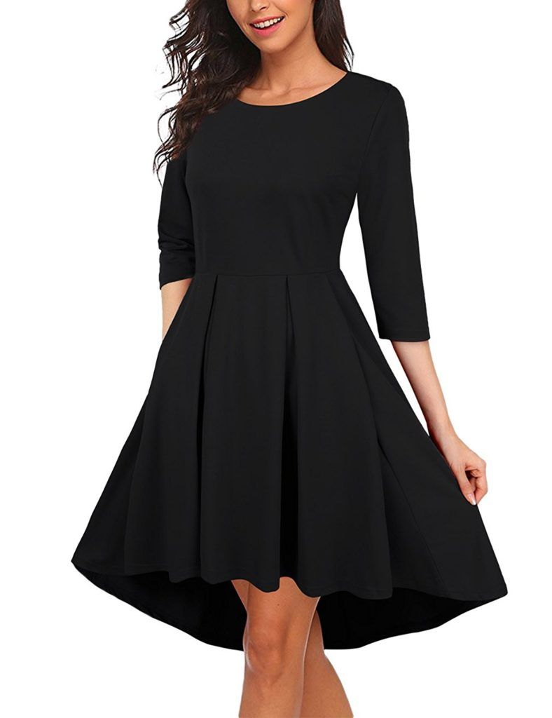 Kasclino Women S Pleated High Low Skater 3 4 Sleeve Party Cocktail Dress With Pockets Shop2online Best Woman S Fashion Products Designed To Provide Trendy Cocktail Dresses Casual Cocktail Dress Cocktail Dress Party [ 1024 x 788 Pixel ]