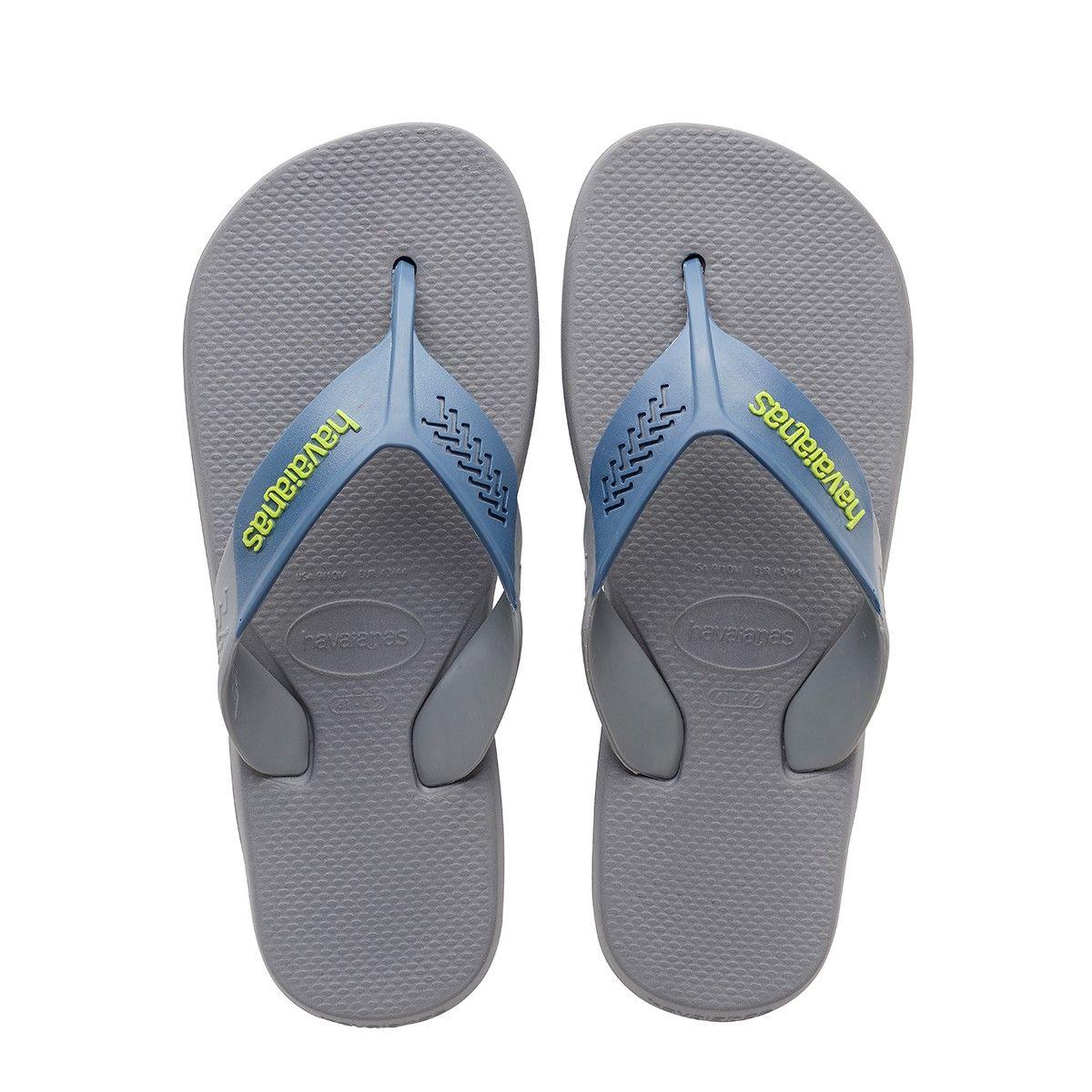 Havaianas Dynamic Sandal Steel Grey Indigo Blue In Dynamic Sandal Steel Grey Indigo Blue Modesens Mens Flip Flops Rubber Flip Flops Havaianas
