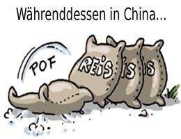 """hätte ich nicht gedacht, daß ich ma einen Pin zu meinem URALTEN Spruch finde:"""" ist mir so egal, wie wenn in China ein Sack Reis umfällt !"""" ..... . :o)"""