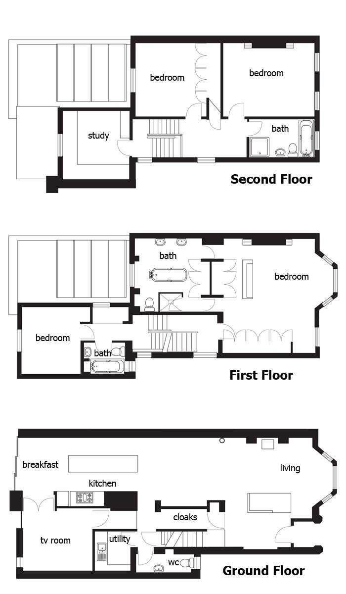 Remodelling A Terrace - Homebuilding & Renovating | House Plans, Terrace House, Building A House