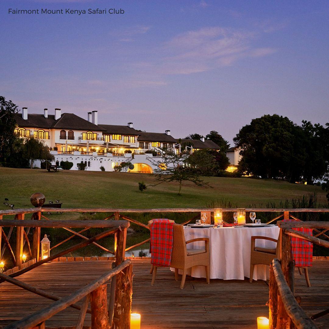 Fairmont Mount Kenya Safari Club With Images Mount Kenya