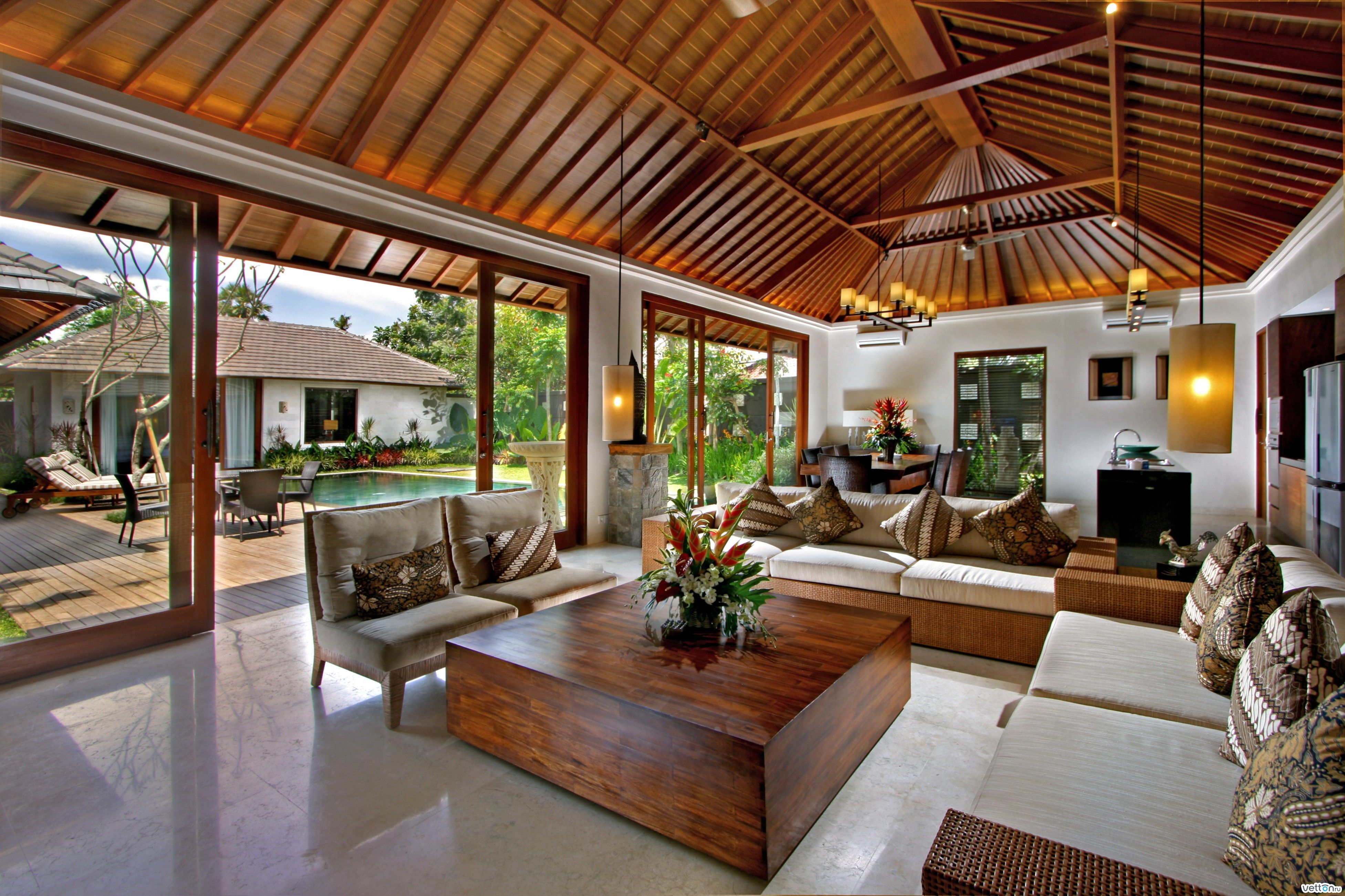 house and interiors. Modern filipino nipa hut House Interior  MA OSA Interiors modern take on the relaxed Filipino home Awesome houses Pinterest Hut house and