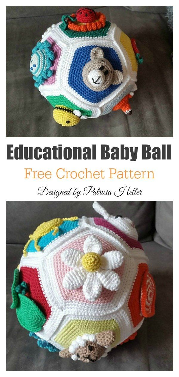 Amigurumi Soft Ball Free Crochet Pattern – crochet patterns