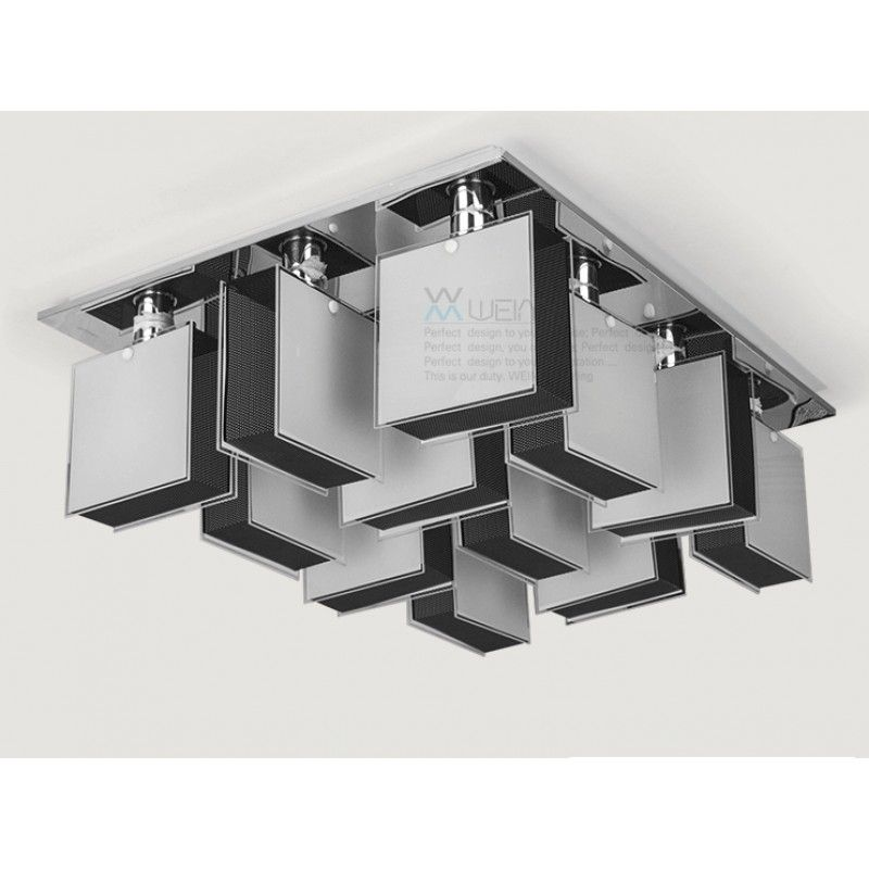 $483.00 / piece Fixture Width: 85 cm (33 inch) Fixture Length : 63 cm (25 inch) Fixture Height:25 cm (10 inch) Color : chrome Materials:glass,stainless steel