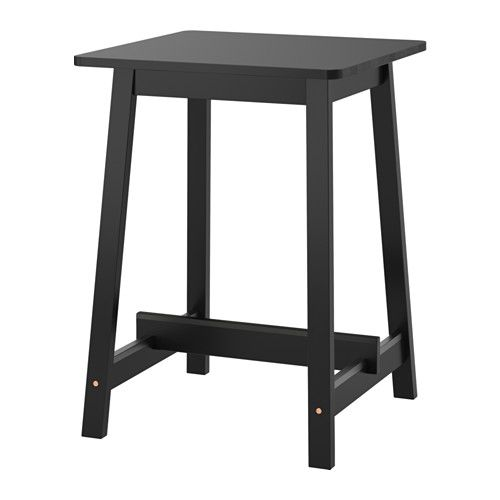 Norrker bar table black pinterest bar table ikea kitchen norrker bar table ikea durable and sturdy 150 meets the requirements on furniture for public use watchthetrailerfo