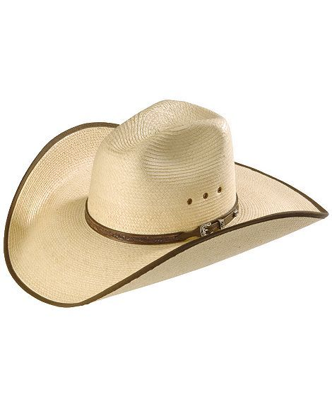 ba36a545acb Larry Mahan Guatemalan Palm Straw Cowboy Hat