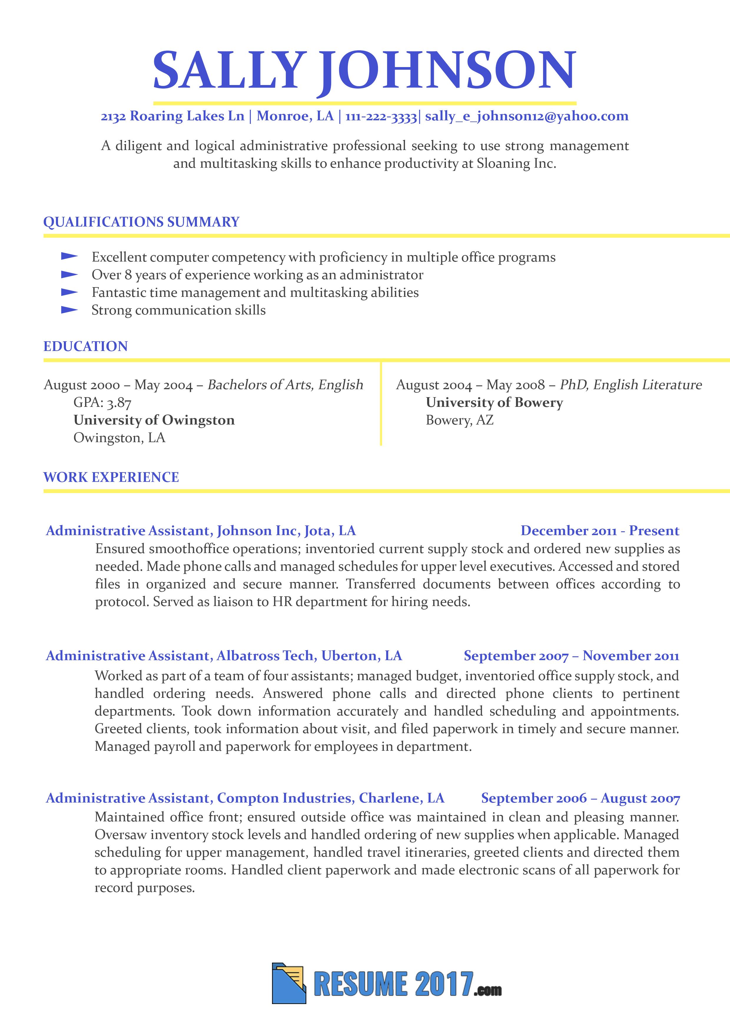 Resume Format 2018 2 Resume Format Resume Examples Resume