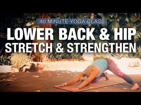 lower back  hip stretch  strengthen yoga class  five