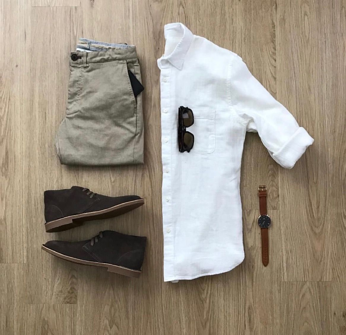 White shirt a must have in wardrobe.